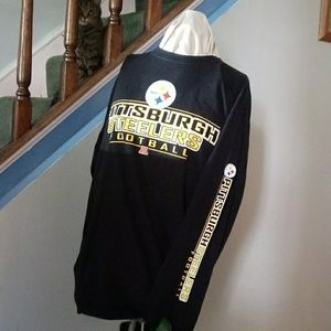 Steelers size LARGE LONG SLEEVE TEE